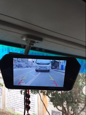 Van Reverse Camera Installation Image Wireless Backup