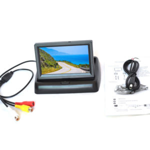 Flip-Up TFT LCD Rear View Monitor