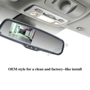 vardsafe oem replacement rear view mirror monitor installation guide