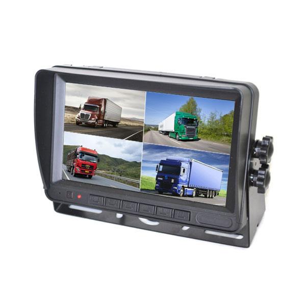 7 Inch Quad Rear View Monitor Wireless Backup Camera