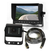 backup camera system with light duty camera