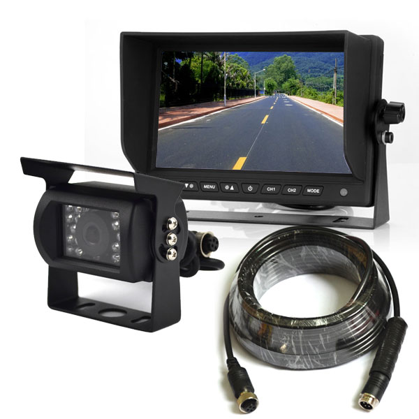 heavy duty backup camera system