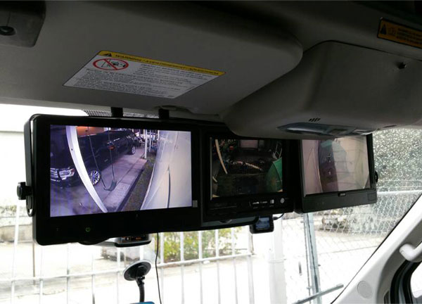rear view monitor installation