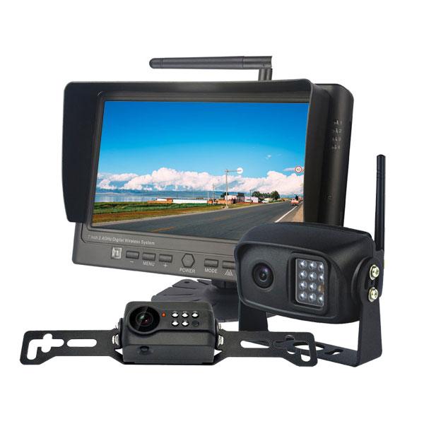 7 Quot Wireless License Plate Backup Camera System Vardsafe