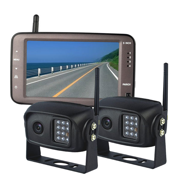 Digital Wireless Backup Camera System 2 Cameras on wireless car backup camera systems
