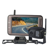 wireless license plate backup camera system with 2 cameras
