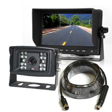 heavy duty backup camera systems