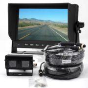 Backup Camera System with Dual Lens Camera