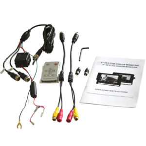 rear view monitor accessories