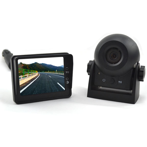 wireless magnetic backup camera system